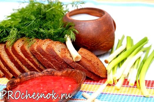 Фото - Горлодер рецепт с чесноком